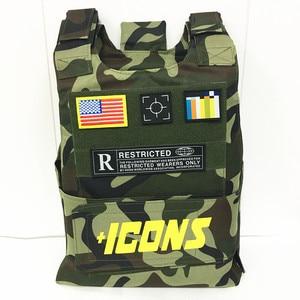 Image 5 - Bulletproof דגל במגמת CS אפוד טקטי אפוד הצבאי וסטים טקטי ציוד ציד בגדי דיג סוס רכיבה וסטים