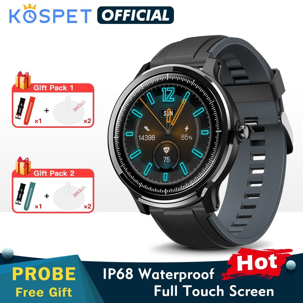 Новый KOSPET Probe зонд Смарт-часы для мужчин браслет SN80-Y ip68 Водонепроницаемые часы фитнес-трекер спортивный женский браслет SN80 Смарт-часы для ...