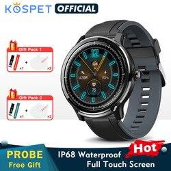 Nowa sonda KOSPET Probe  Smartwatch SN80-Y mężczyźni zespół ip68 wodoodporny zegar opaska monitorująca aktywność fizyczną Sport kobiety bransoletka SN80 Smartwatch dla androida IOS