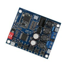 OPQ-Placa de amplificador Digital Bluetooth CSR4.0 módulo receptor de Audio 25W + 25W amplificador altavoces-piezas de módulo(China)