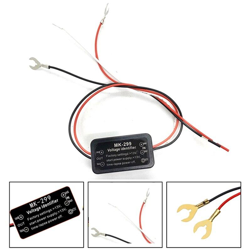 Новый 12V 5A Популярные светодиоды для автомобиля дневные ходовые огни светильник Функция автоматического включения/выключения модуль контр...