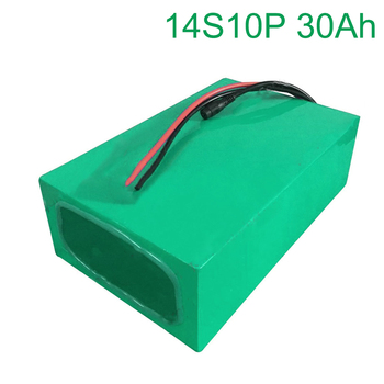 52V 30Ah 14S10P 18650 Li-ion Battery electric two Three wheeled motorcycle bicycle 270*195*70mm