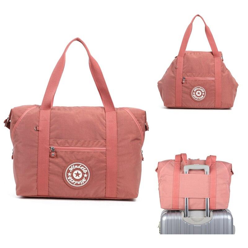 KEDANISON sac de voyage en nylon étanche sac de sport pliable de grande capacité obtenir des bagages trought