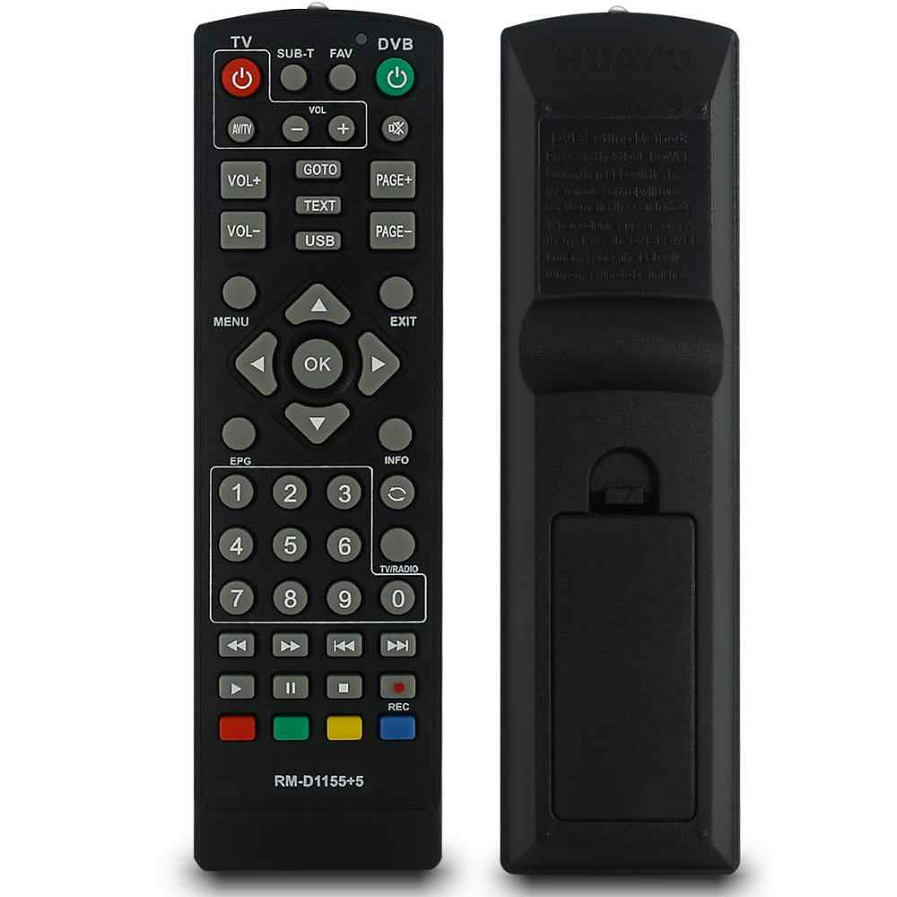 Universal TV Remote Control Controller DVB-T2 Remote Rm-d1155 SAT TV Satelit Receiver Huayu
