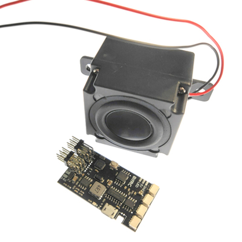 Sound Simulator Module Marine Steam Whistle Siren Unit Switch Control Horn Speaker System Parts For RC Boat Simulation Ship