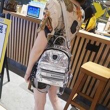 Explosion Crack Shoulder Bag 2020 New Wave Ladies Fashion Sequin Backpack Multipurpose Travel Zipper Bag Female Travel Backpack