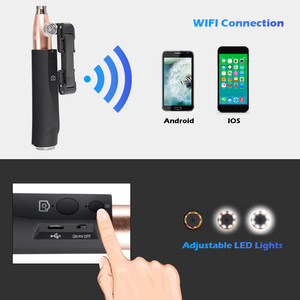 Image 5 - Fuers F110 1M 3M Cabo 8mm 1080P HD Portátil À Prova D Água Câmera de Inspeção Endoscópio WIFI LED Multipurpose para Android IOS Telefone