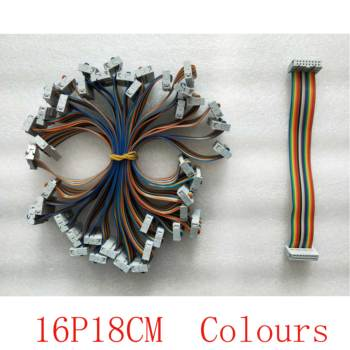 flat data cable colours 16P18CM P2 P2.5 P3 P3.91 P4 P4.81 P5 P6 P7.62 P8 P10 Full Color Outdoor Indoor Rental LED Display module image