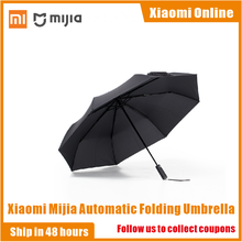 Original Xiaomi Mijia Automatic Umbrella Sunny Rainy Aluminum Windproof Waterproof UV Man and Woman Summer Winter Umbrella