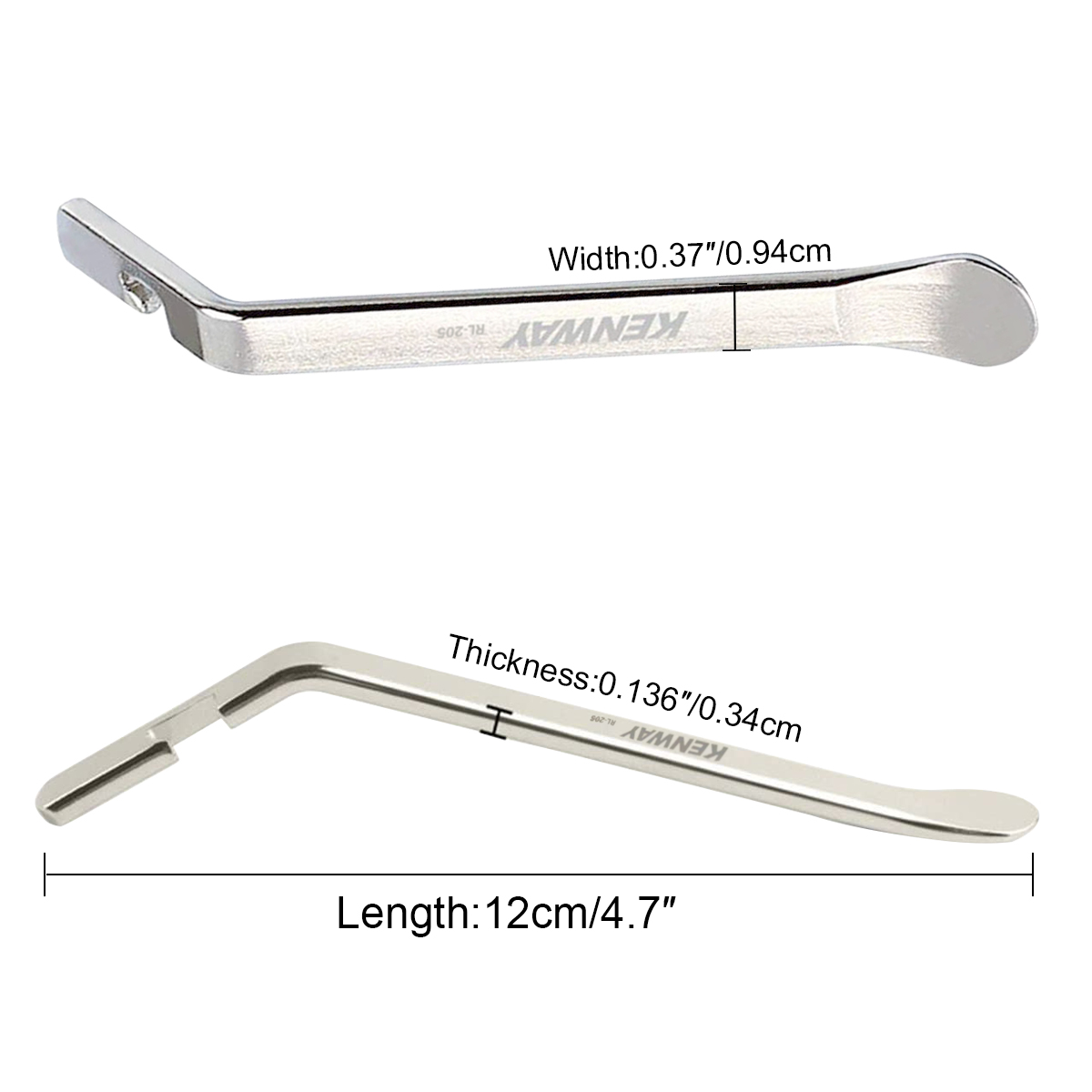 3 PCS Premium Bicycle Tire Lever Tyre Spoon Iron Changing Tool Stainless Steel