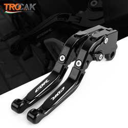 Brake Clutch Lever For HONDA CBR1000RR 2008-2019 CBR600RR 2007-2019 CBR RR Motorcycle Accessories Folding Extendable logo CBR