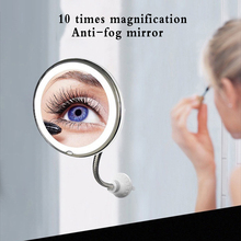 Led-Mirror-Light Magnifying Cosmetic Miroir Flexible 10X with Vanity-Mirrors