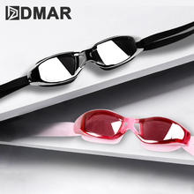 DMAR Swimming Goggles Anti-Fog Diving Eyewear Professional Waterproof Silicone Glasses Men Women Kids