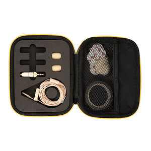 Image 2 - אלוהות W.Lav פרו (DA35) IP57 עמיד למים דירוג 4mm קוטר מקצועי lavalier מיקרופון ליצירת סרטים