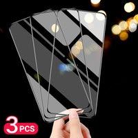 3Pcs Per Xiaomi Redmi Nota 9 Pro 9S Della Copertura Completa di 9D Vetro Temperato Xiomi Redmi Nota 6 5 pro 5A 4X 4 3 Protezione Dello Schermo Della Pellicola Della Protezione