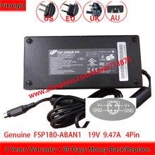 Натуральная 180w 19v 947a fsp180 aban1 адаптер переменного тока