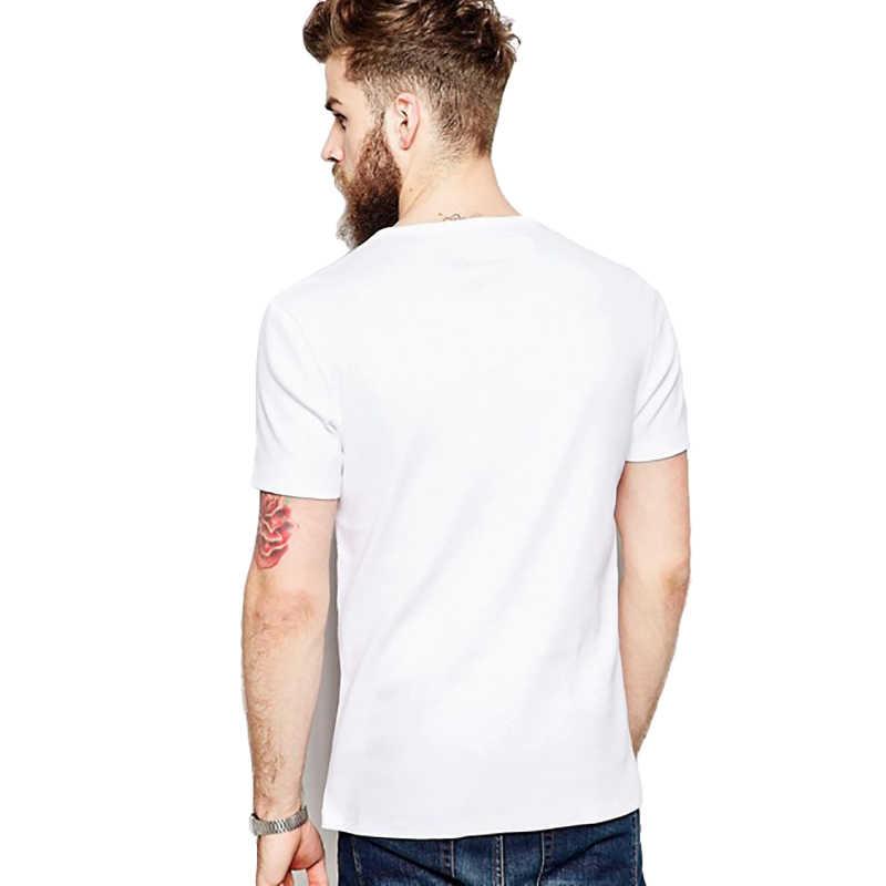Nuovi uomini di t-shirt Super Cute Tasca Hedgehog Stampa T-Shirt Divertente di Disegno Del Fumetto Ragazzi Bianco Casual Magliette E Camicette uomo Magliette