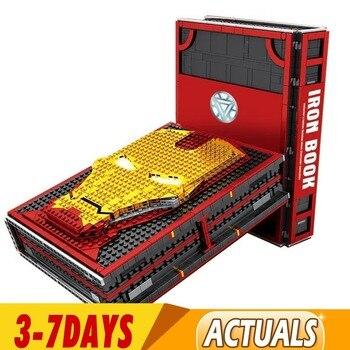 En Stock, nuevas colecciones de figuras de Spiderman Iron Man, bloques de construcción de Los vengadores de bloques, juguetes SY1361 SY1461, regalos
