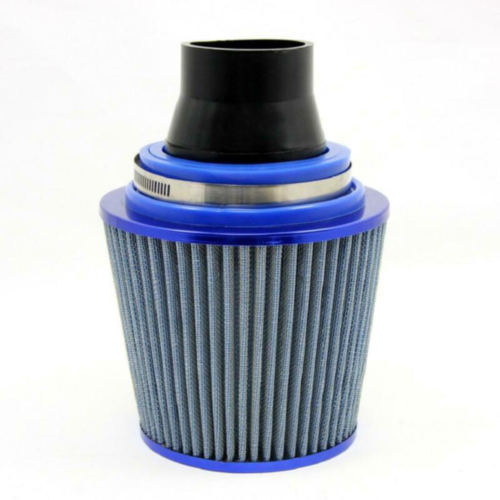 Replacement 76-63mm Car Air Intake System Air Filter Pipe Tube Hose Black