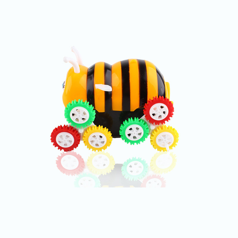 New Style Bees Car Dump Truck Stunt Electric Toy Car Automatic Double CHILDREN'S Toy Stall Supply Of Goods New Products