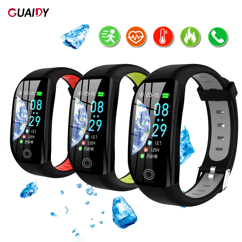 Colorful Smart Watch Women Men Bracelet Sports Bluetooth Wristband Waterproof For Samsung Huawei IOS Universal Health Monitor