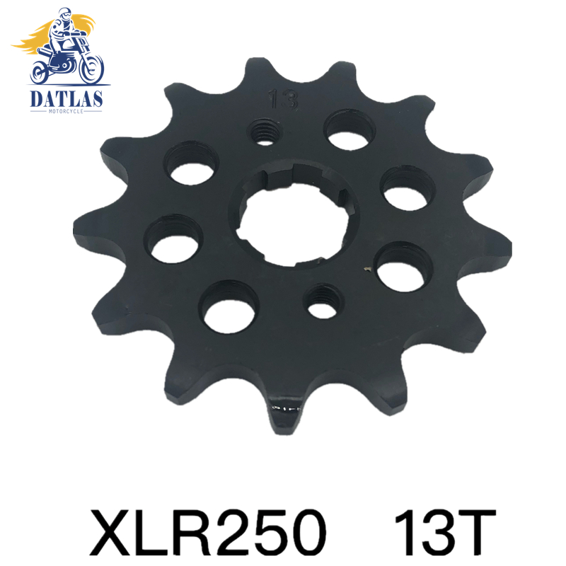 520 13T Motorcycle Front Sprocket Small Gear For <font><b>HONDA</b></font> <font><b>XLR250</b></font> image