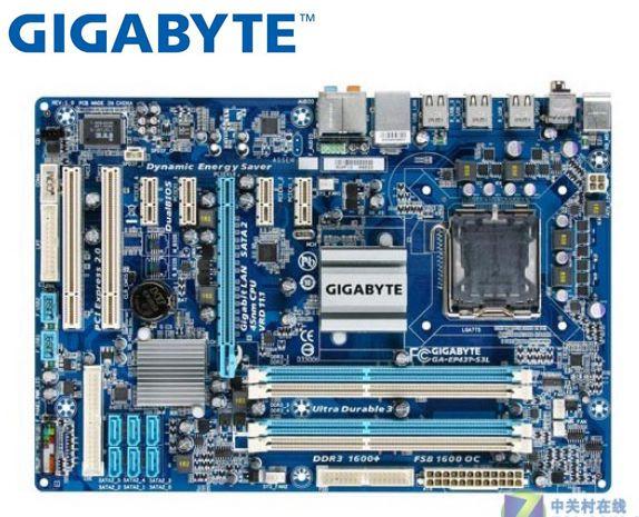 Gigabyte GA-EP43T-S3L Original Mainboard DDR3 LGA 775 EP43T-S3L Boards 16GB P43 Used Desktop Motherborad