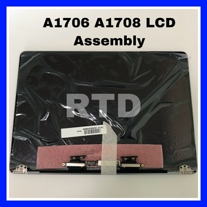 Replacement Orignal New Space Grey A1706 A1708 LCD Screen Display Assembly for Macbook 13