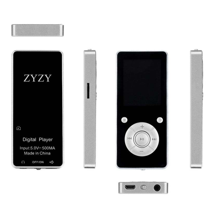 2019 Mini Plug-and-play Anti-slip Voice Recorder With Memory Card Slot, 7 Keys MP4 Music Player For Bluetooth 4.2