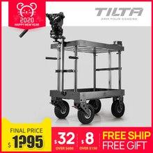 Wózek filmowy Tilta wózek reżysera Dolly do filmu wideo maksymalne obciążenie 500kg TT TCA01