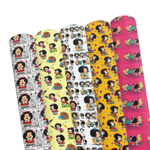 Earring Vinyl-Fabric Faux-Leather Character Cartoon Fabric-Sheets for DIY Handmade Bows-Making