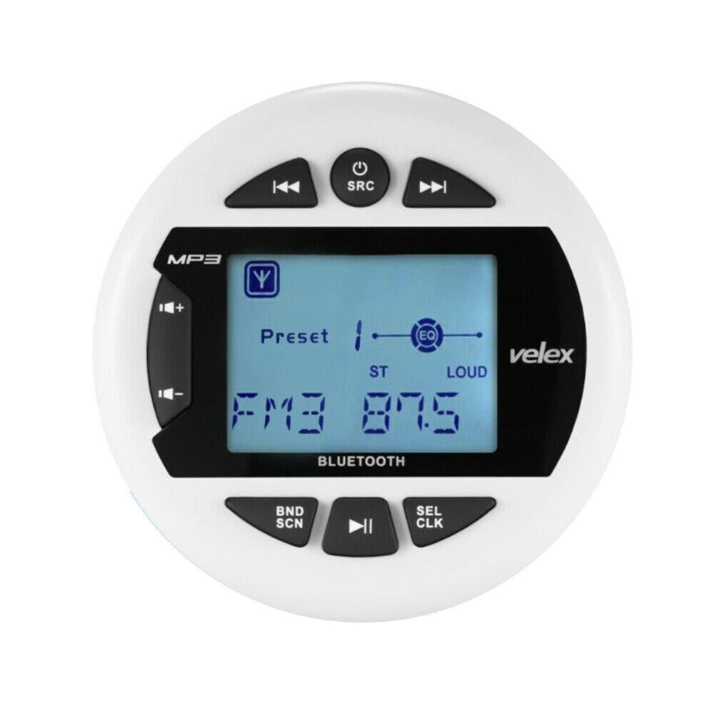 Imperméable à l'eau Marine Bluetooth stéréo bateau Radio numérique médias Audio FM AM voiture lecteur MP3 USB pour ATV UTV SPA moto Yacht