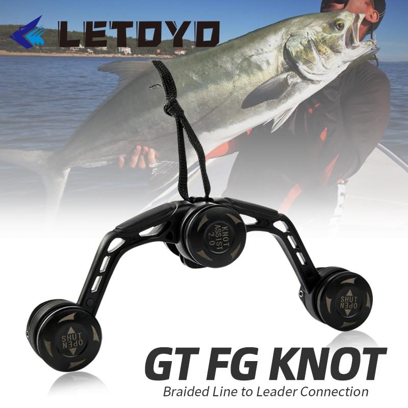 Knot-Tool Knotting-Machine Fishing-Line-Equipment Bobbin-Winder Pr-Line Wire LETOYO Japan
