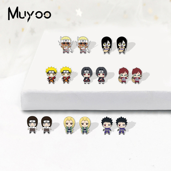 New Anime Classic TV Show Series Acrylic Resin Epoxy Stud Earrings Cartoon Characters Shrinky Dink - discount item  30% OFF Fashion Jewelry