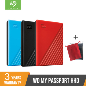 NEW WD 2TB 4TB My Passport hdd