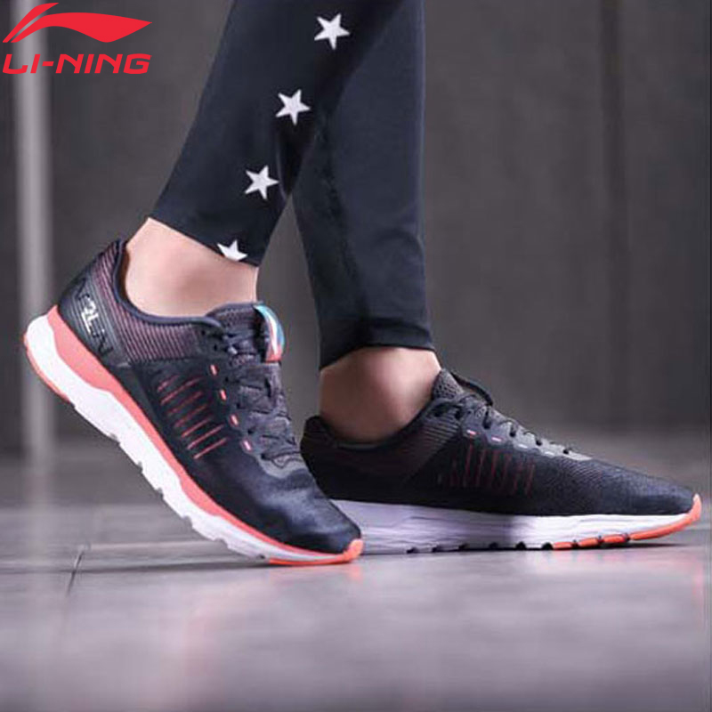Li Ning Women ACE RUN Running Shoes Light Weight Wearable LiNing li ning Sport Shoes Fitness Breathable Sneakers ARBN006 XYP671 Running Shoes     - title=