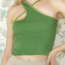 Crop-Top Camisole Basic Streetwear Female Sexy Hollow-Out Cotton Summer Women Sleeveless