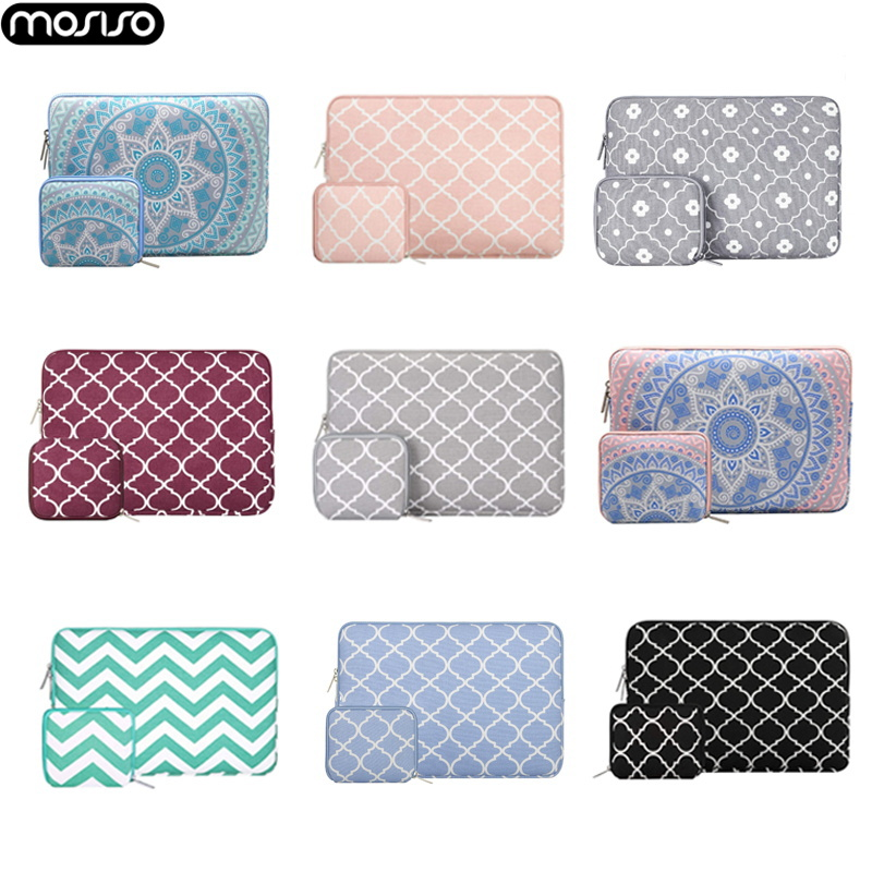 MOSISO 11 12 13.3 14 15.6 Inch Laptop Sleeve Bag For Apple Macbook Pro 13 Case Air 11 12 Retina 2018 New 15 Touch Bar Women Men