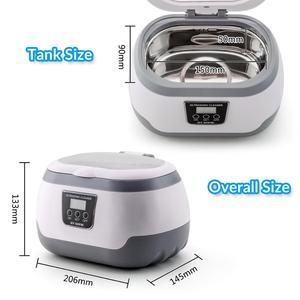 Image 4 - GTSONIC VGT 2818 Ultrasonic Cleaner for Necklace Earrings Bracelets Dentures Household Ultrasonic Baths