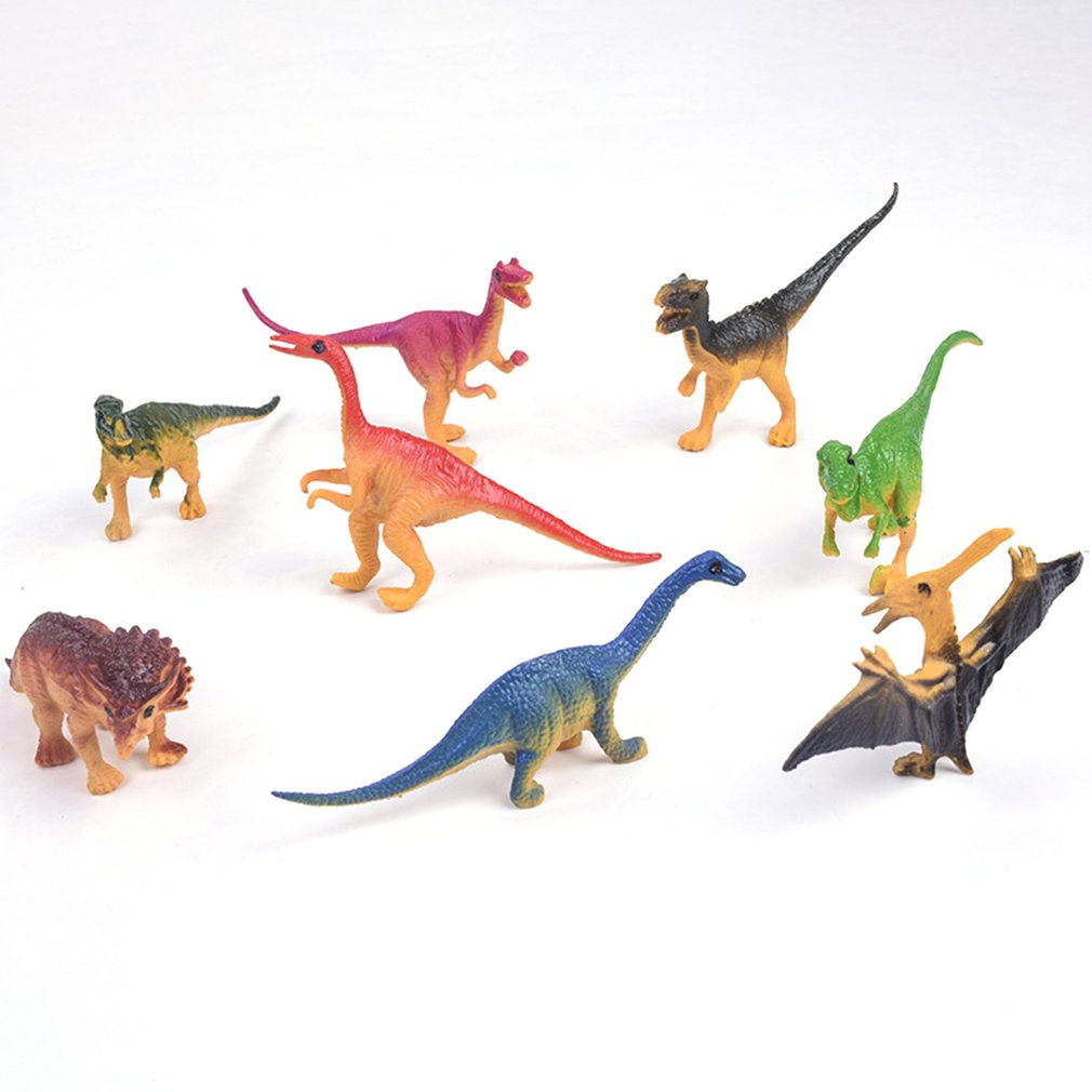 Dinosaur World Tyrannosaurus Therizinosaurus Spinosaurus Action Figures Jurassic Dinosaurs Model Action Figure Model Toys