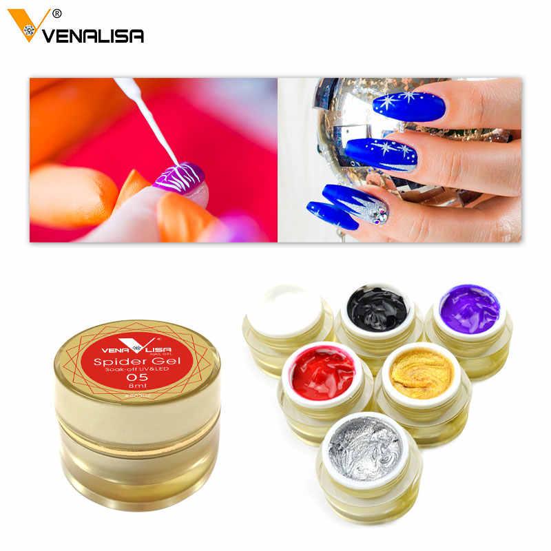 Gel de peinture à ongles Venalisa uv led 5ml gel de peinture à ongles professionnel vernis à ongles