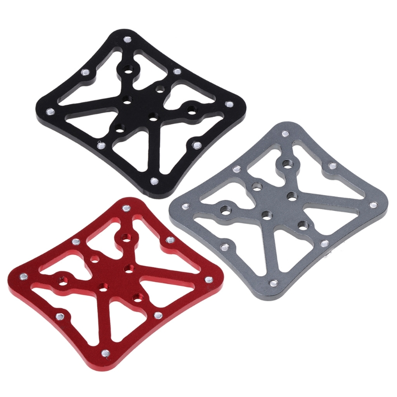 Bicycle Pedal Adapter Platform Cycling Aluminum Alloy Clipless For Shimano SPD U1JC