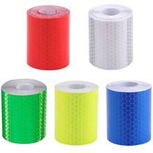 Sticker Safety Warning-Tape Self-Adhesive Reflective High-Visibility White Yellow Waterproof