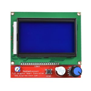 Image 5 - BIQU Bigtreetech MKS Gen V1.4 Control Board kit with 12864 LCD display TMC2130 TMC2208 A4988 DRV8825 stepper motor drive