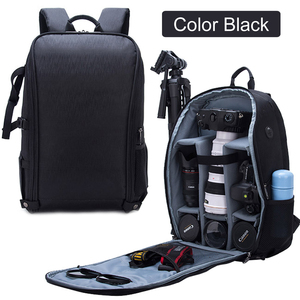 Image 1 - Stylish Photography Waterproof Backpack Camera DSLR Shoulders Bag Nylon Case fit 15.6inch Laptop Tripod Travel Outdoor SLR Bags