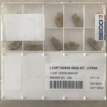 Seco LCMF160608-0600-FT inserções de carboneto cp500 10 peças