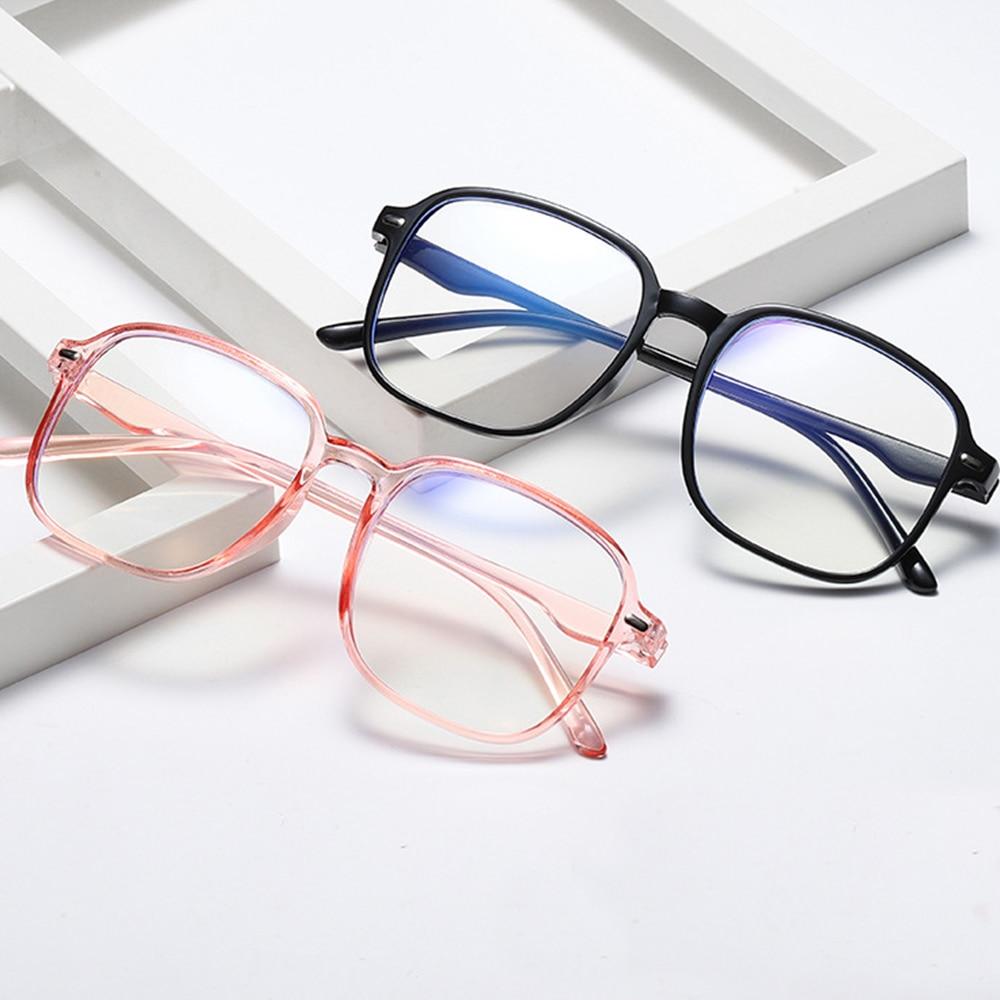 Gafas de bloqueo de luz azul para hombre y mujer, lentes de ordenador para leer, jugar, TV y teléfonos, antitensión con marco grande de gran tamaño, 1 unidad