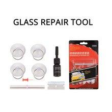 Rovtop DIY Car Windshield Repair Kit Glass Windscreen Restore Repairing Tools Set Big Chip Crack CCC