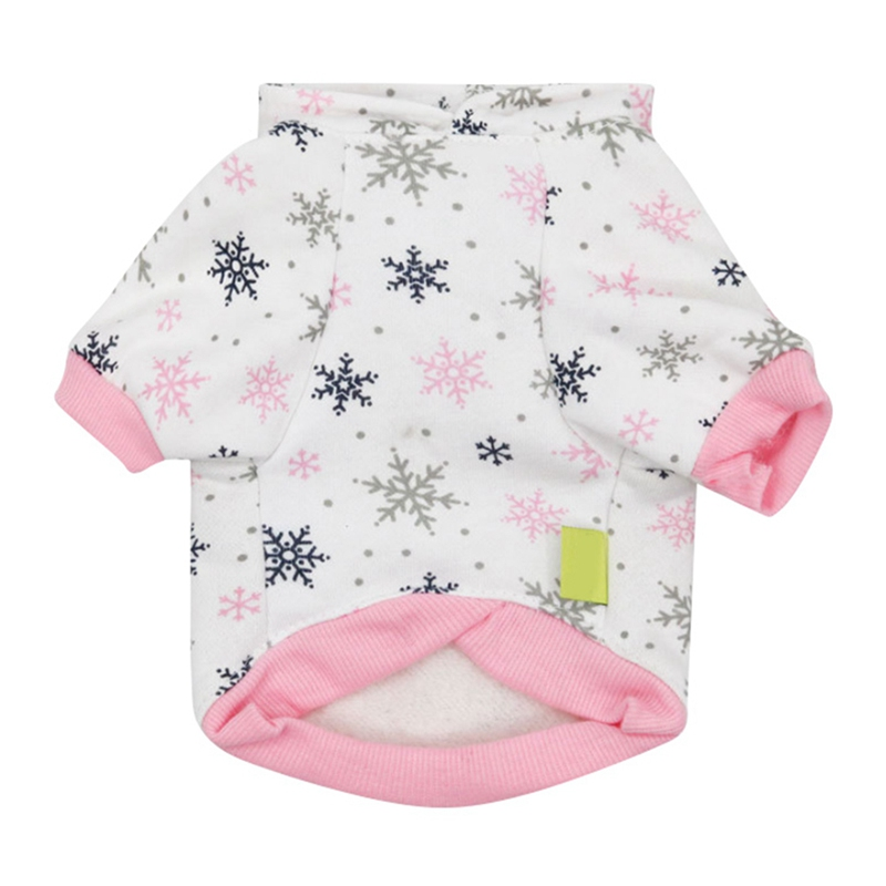 XS S M L New Christmas Dog Clothes Winter Coat Clothing Santa Costume Pet Dog Warm Hooded Clothes Cute Puppy Outfit For Dog in Dog Coats Jackets from Home Garden