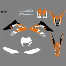 for KTM Freeride 350 New Full Graphics Decals Stickers Custom Number Name Glossy Bright Waterproof